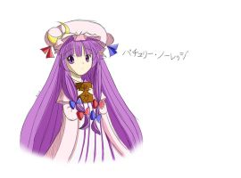 Patchouli Speedpaint by Lucky-Sonic-77-d