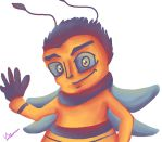 Palette Challenge - Barry the Bee by Hedgey