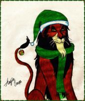 Happy X-mas to Scar by AngilieSnape
