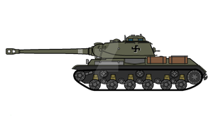 Finnish IS-2 by COLT731