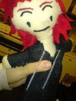 Axel Plushie... by misfitmosher