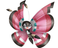 Vivillon by Sparkru-chan