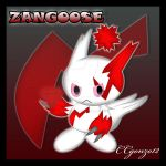 Zangoose Chao by CCmoonstar23
