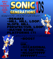 Initial Interpretations of Sonic Generations 3DS by superskeetospro