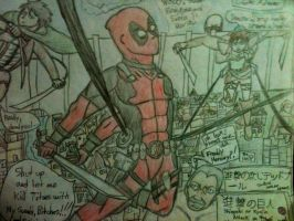 Attack on Deadpool by Yosh300