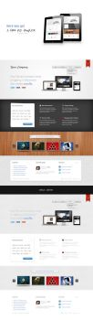 A free PSD template by EmilioEx