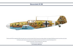 Bf 109 G-2 JG3 1 by WS-Clave