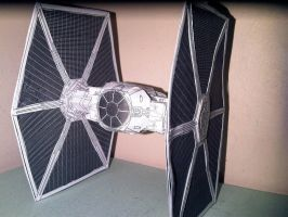 Tie Fighter by oscarmiranda90