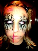 Zombie Make up 1 by hoolzbaby