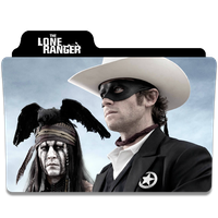 The Lone Ranger Folder Icon by efest