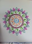 Mini Mandala Color Playing by tolkienmithril