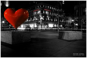 Heart of San Francisco by Prain
