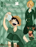 Sanji + St. Patricks contest 6 by OnePieceUnlimited