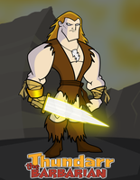 Thundarr the Barbarian: REDESIGN 2013 by Cartoonray