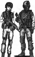 BF 3 Russian Assault class by ThomChen114