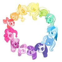 Pony Color Wheel by MissSmish