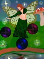 Fairy Dancer - Amid the Stars by copperphoenix