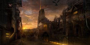 Old Town by TitusLunter