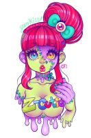 Zombie Cutie by CamiFortuna