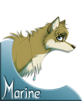 Ma fursona by Amyloup