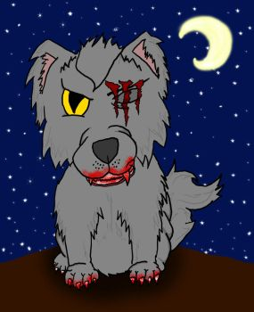 Vicious Wolf by fullmetal0531