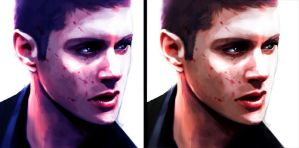 dean bloody scetch by Gregory-Welter
