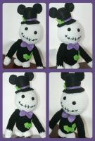 Disney inspired skeleton for the holidays by oywiththeplushies