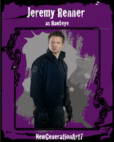 Jeremy Renner as Hawkeye CTC by NewGenerationArt7