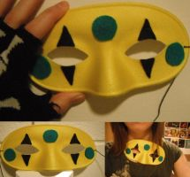 Party Poison Killjoy Mask by TombRaiderKuchen