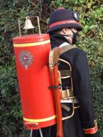 Steampunk Firefighter by Leadmill