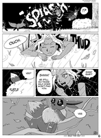 P6 Legends (fan comic commission) by ColorMyMemory