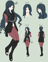 Shikyo Uchiha REVAMPED Design by DanielleNara