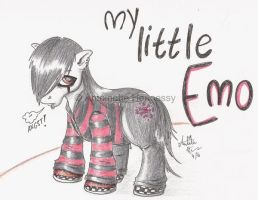 My Little Emo by PantsPhD