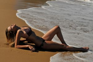 Brooke - bikini on sand 1 by wildplaces