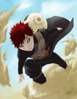 Gaara of the Sand by He11Bringer