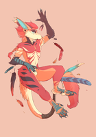 [comm] Feather Dancer by shootitout