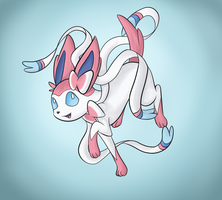Sylveon by Foxfall