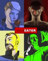 PRE-PRODUCTION = MANEATER Character Portraits by crMeyer