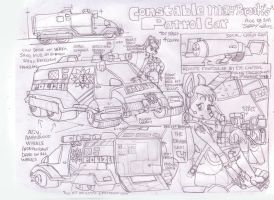 Constable May patrol car by GeorgieGanarf