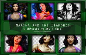 Photopack |Marina and The diamonds. by StarsExplosions