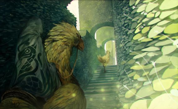 Chocobo Temple by Noxypia