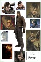 I love Leon Kennedy by ayatoujou