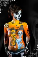 Body Paint VooDoo by bueller345