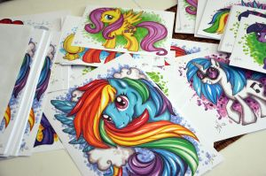 My little pony Prints for sale! by Kattvalk