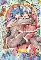 I love sitting on Santa's knees by M-T-D-G