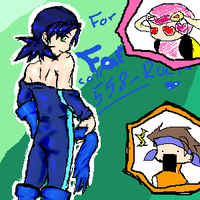 Fanservice Rockman.EXE by Lotus-of-Shiva