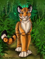 The King Of The Jungle by Tigerty