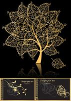 Gold-design_vector by p30room