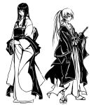 TOMOE and KENSHIN by Agacross