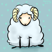 Sheep oekaki by agotaku